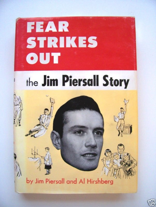 Baseball Book Review - Fear Strikes Out by Jimmy Piersall