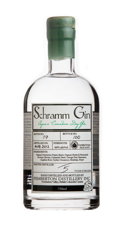 Herb-Infused Organic Spirits : Schramm Gin