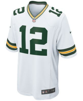 Nike Men's Aaron Rodgers Green Bay Packers Game Jersey - White XXL