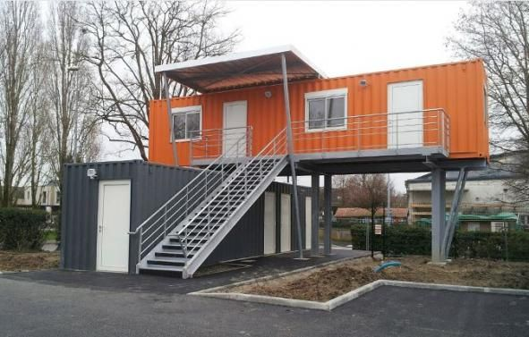 Containers r habilit s by capsa urban pinterest for Maison container 31