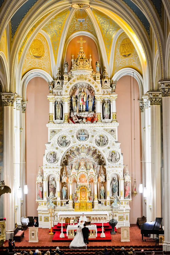 The stunning St. Michael's church in Chicago