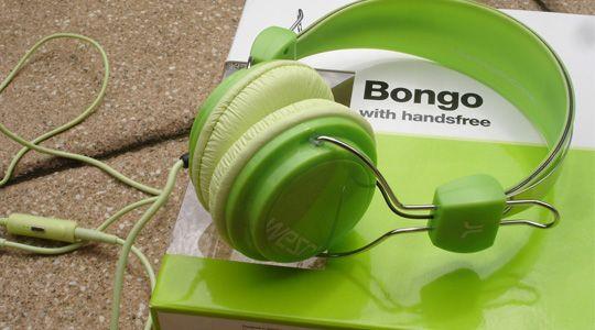 BONGO HATS PICS  | WeSC Bongo Kopfhörer lime peel
