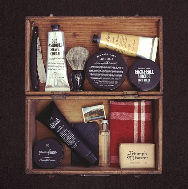 Triumph and Disaster grooming products