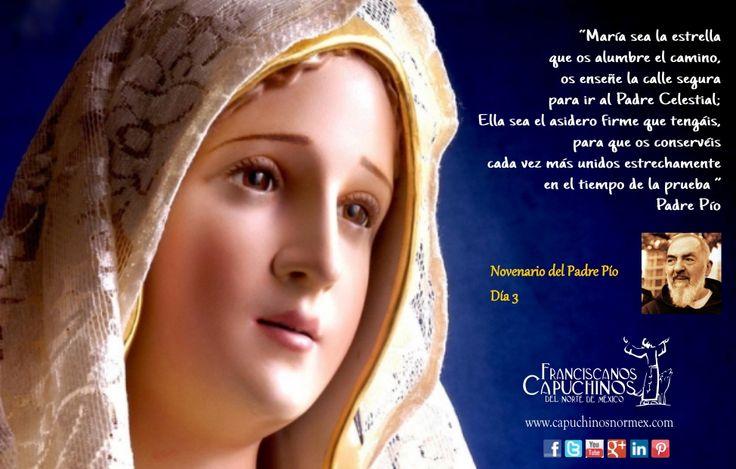 16 de Septiembre. Tercer día del novenario de Padre Pío.