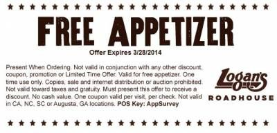 picture about Texas Roadhouse Printable Coupons titled Logans roadhouse printable discount codes 2018 / Absa pc discounts
