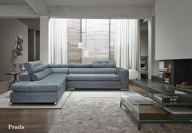 Prada γωνιακός καναπές