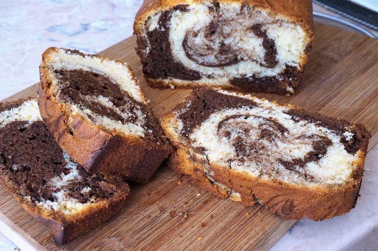 Мраморный кекс - Простые рецепты Овкусе.ру