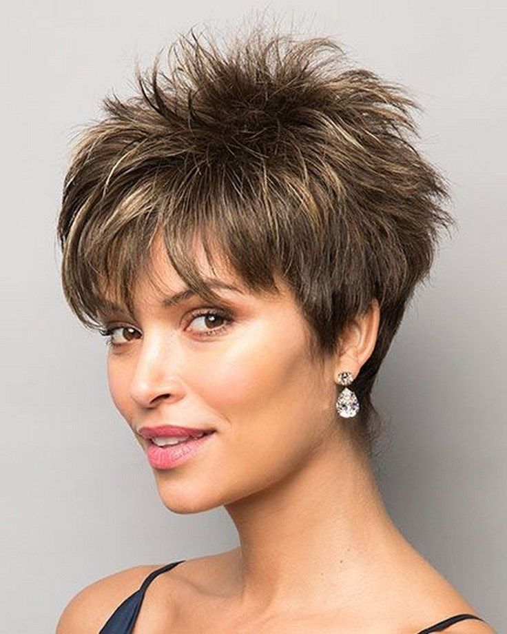 49 Chic Short Hairstyles For Women Over 50 38 Shorthairstyles Hairstylesforshorthair Froggypic Com Short Hair Styles Hair Styles Spiked Hair