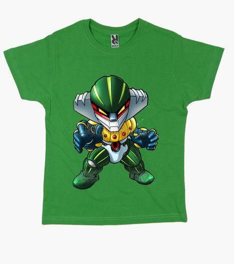 T-shirt Bambino, manica corta, verde