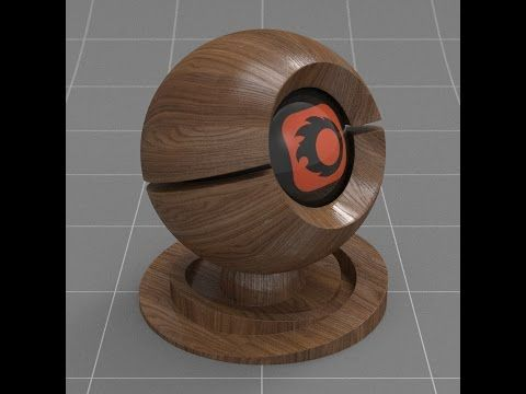 Corona material: Wood - YouTube