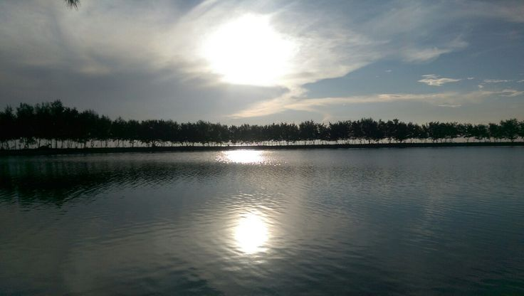 Sunrise pulau payung
