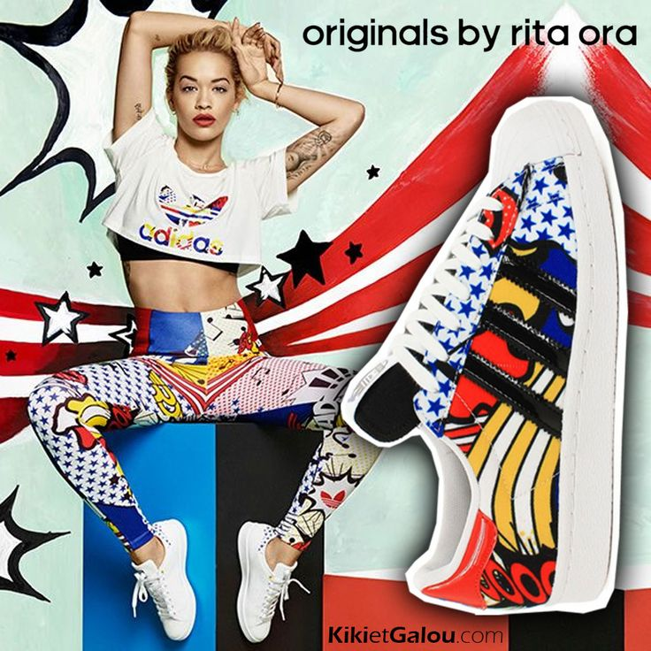 Basket Adidas Superstar By Rita Ora