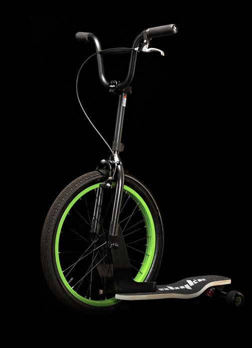 Sbyke: Rear Steering Scooters, Skating Parks, Vélo Partout, Bmx Hybrid, Joue, Partout Pour, Green Monsters, Originals Bicycles, Sbyke Rear Steering