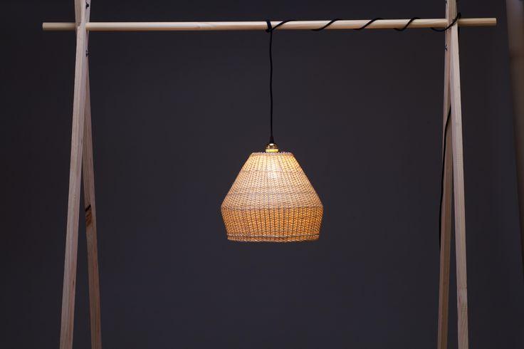 Müpu.02 | Lámpara de mimbre