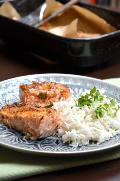 Ázsiai fűszeres egyben sült lazac illatos rizzsel Tipikus Flammeres: Kimaradt recept