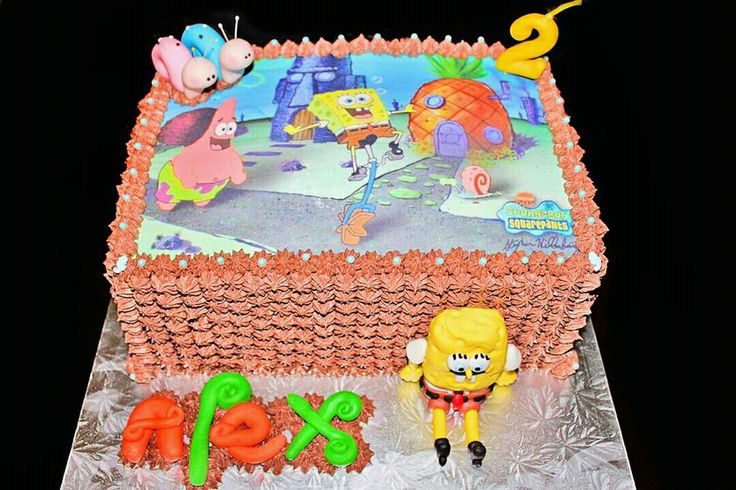Spongebob Squarepants under the Sea cake