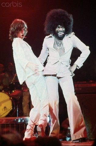 You can't always get what you want — galo-71: MICK JAGGER & BILLY PRESTON