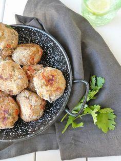 Boulettes de Riz aux Légumes (vegan, sans gluten, sans friture)