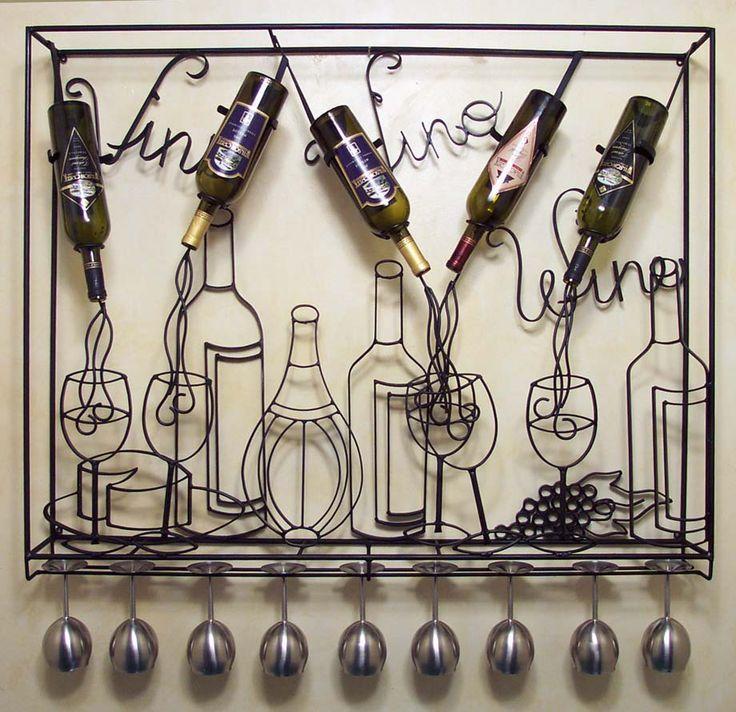 Oh my gosh - love it love it! Creative Wine Racks - Art with Purpose  Beso de Vino