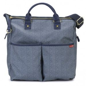 Skip Hop Torba Duo Special Edition Blue Pinpoint