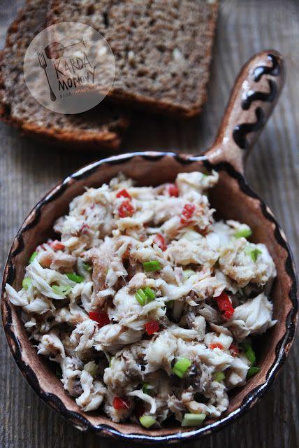 Kardamonovy: Pasta z makreli z marynowaną chili i szczypiorkiem...