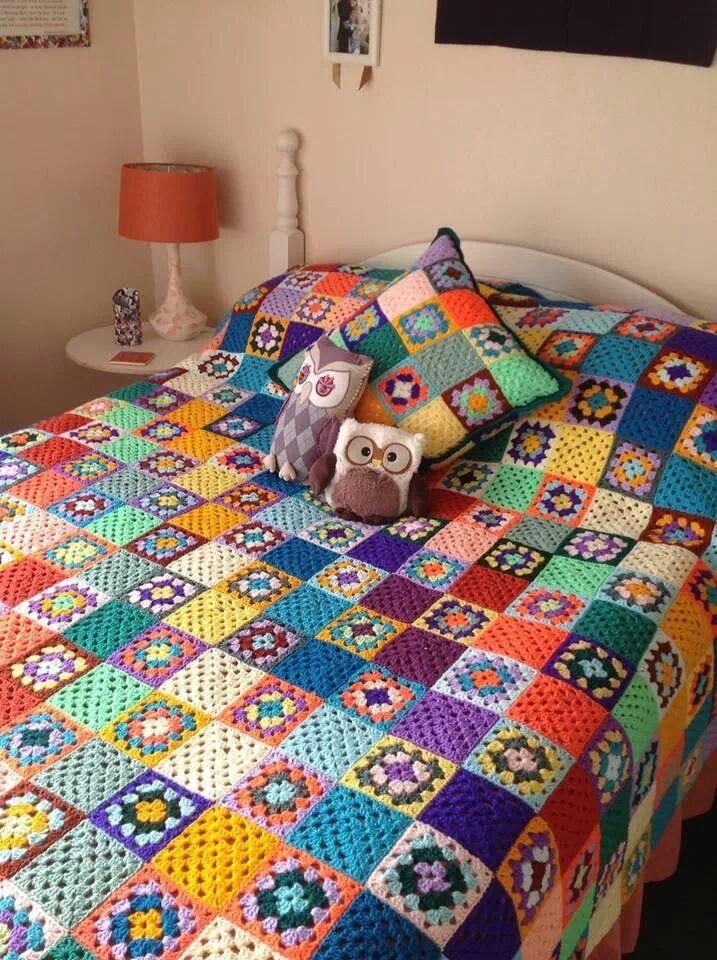 colcha a crochet www.granadacreativa.es