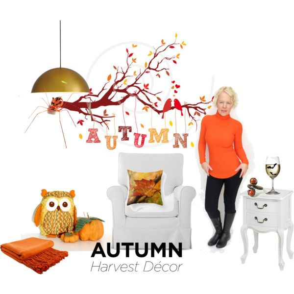 """Autumn Harvest Decor"" by chinnok-design on Polyvore"