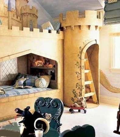 Children's bedroom is not the same fresh color