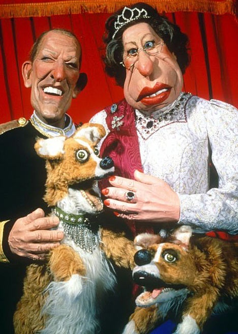 Puppets from Spitting Image