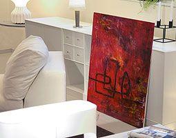Köpa oljemålning/tavla, Stora tavlor/oljemålningar, Abstrakt konst - Art XL