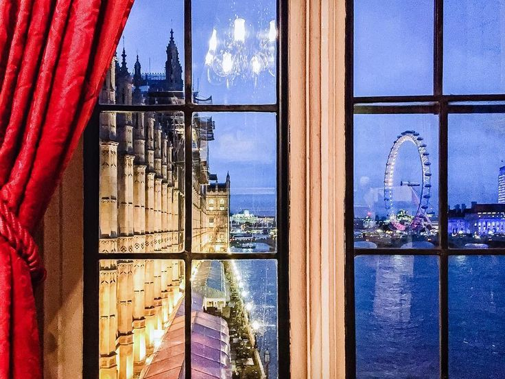 View from the River Room, the principal state Room of the House of Lords. by @_sloaney on Instagram // https://www.instagram.com/p/BNbVsbtBqGG/?taken-by=london