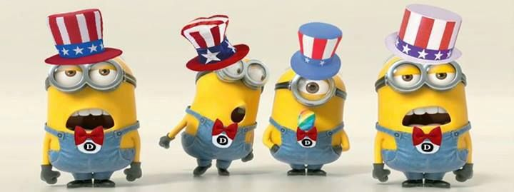 4th of july minions wallpaper - photo #5