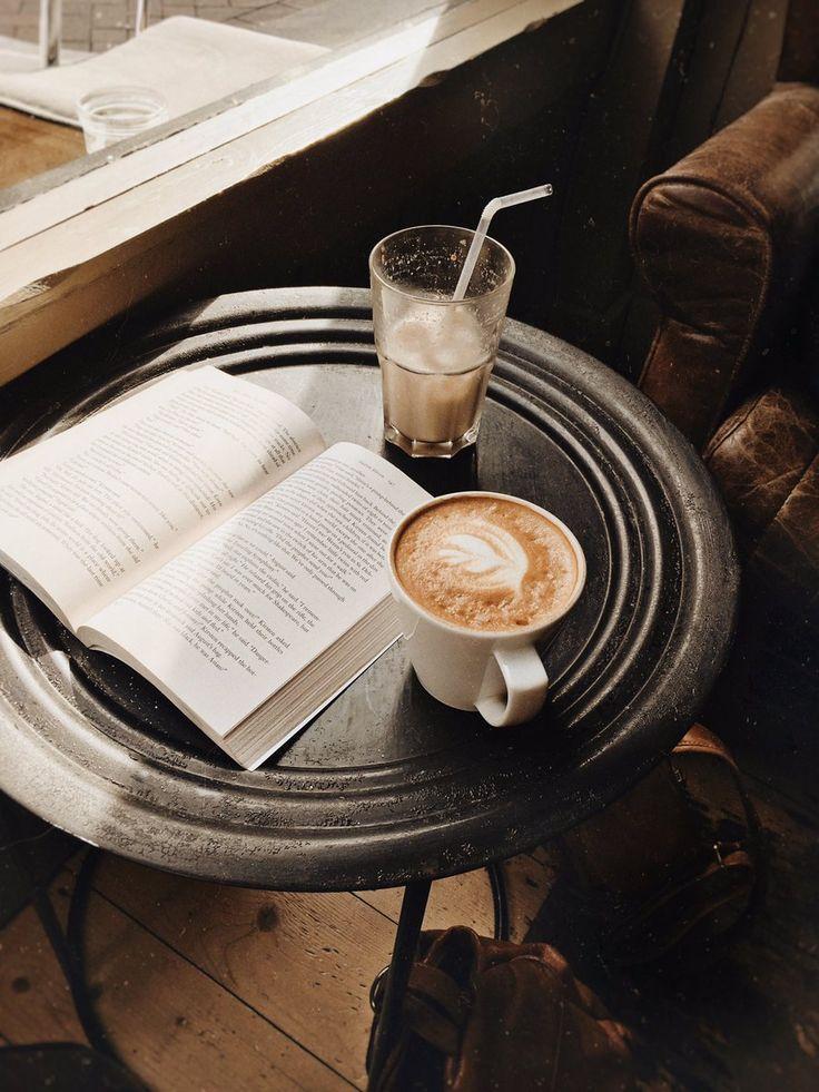 Картинки кофе с книжкой