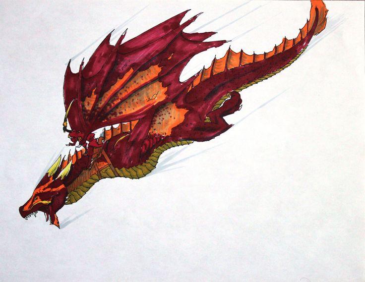 Fire Dragon- Ninjago by joshuad17.deviantart.com on @deviantART