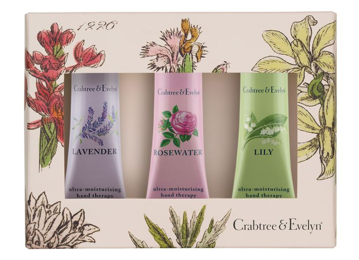 What mum doesn't love handcream? The Floral Hand Therapy Collection from @Crabtree & Evelyn UK  on #RegentStreet will be sure to make for a happy mum this #MothersDay - from £12.50