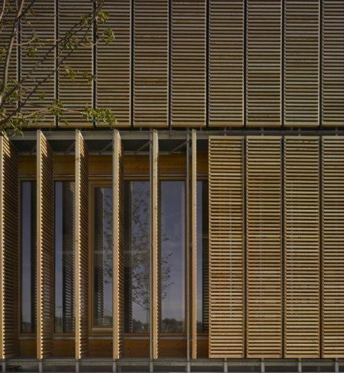 Aalen University Extension Mgf Architekten Wooden