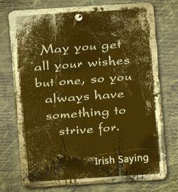 Irish saying about learning
