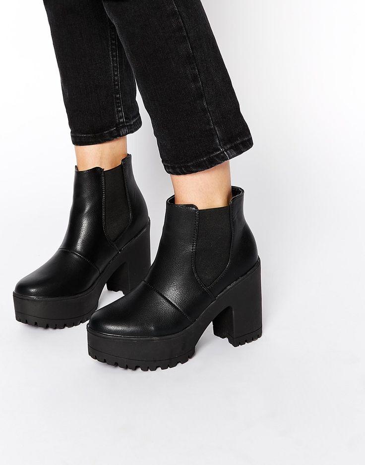Truffle Platform Nora Platform Chelsea Boots