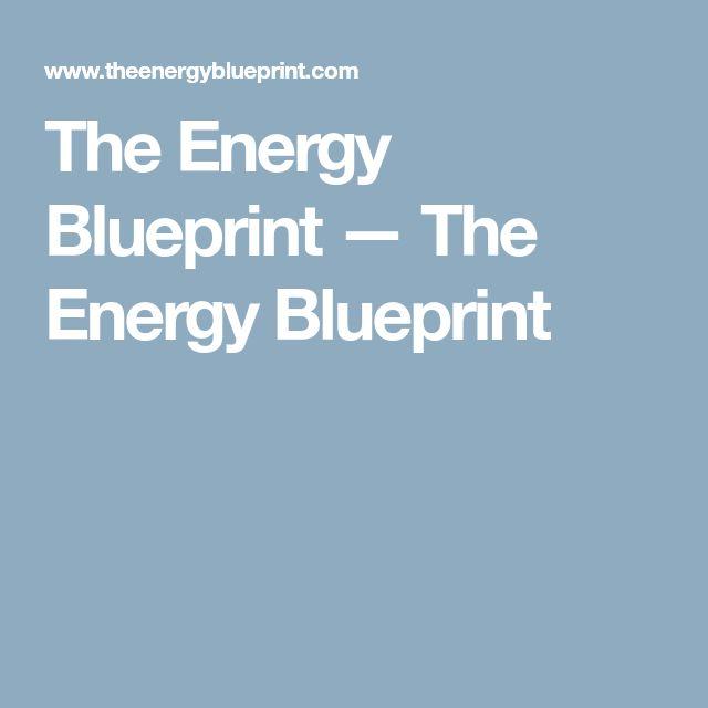 The Energy Blueprint — The Energy Blueprint