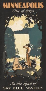 old school Minnesota Tourism poster. WANT SO BAD.