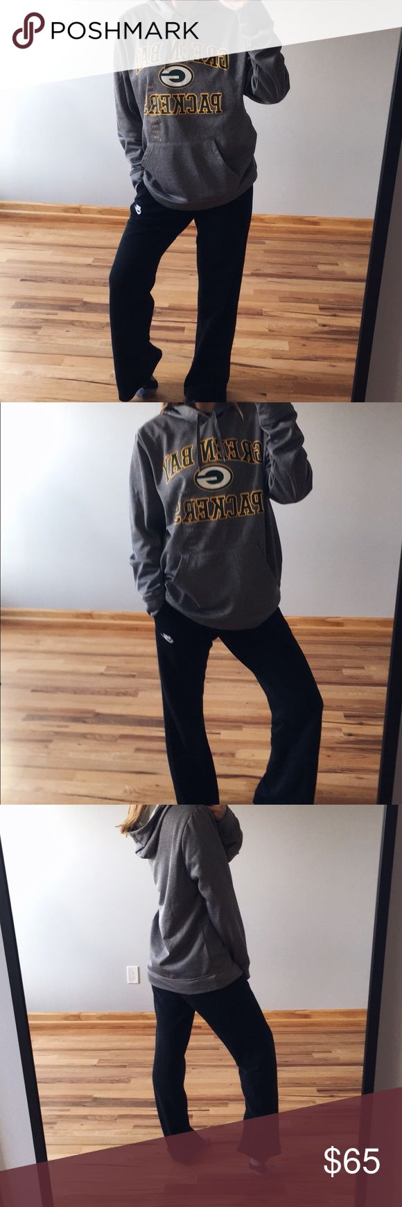 Packer hoodie NWT, unisex, fits a medium and large, nicely oversized for me, price is firm Majestic Tops Sweatshirts & Hoodies