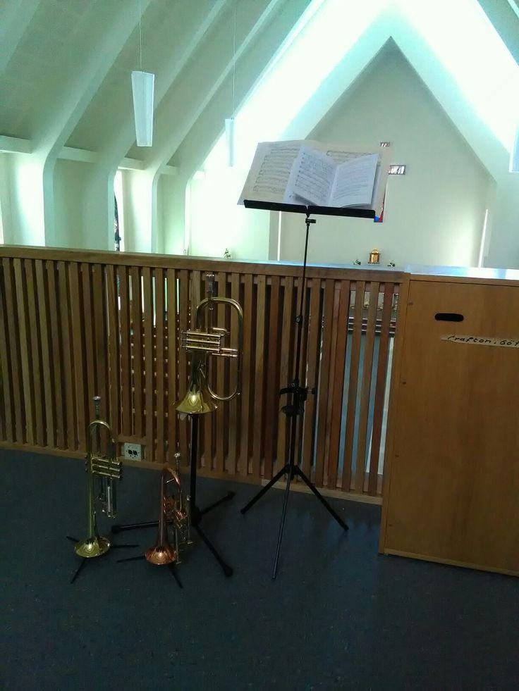 Church music with Getzen Trumpet, Flugelhorn and Cornet
