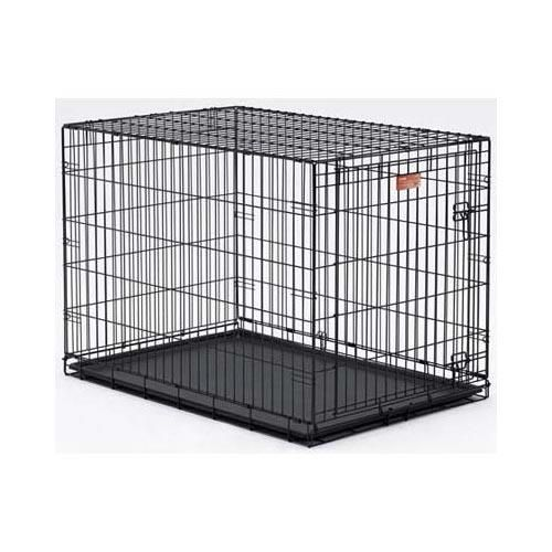 "Midwest Dog Single Door i-Crate Black 42"" x 28"" x 30"""