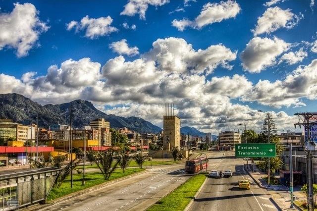 Autopista norte Bogotá.