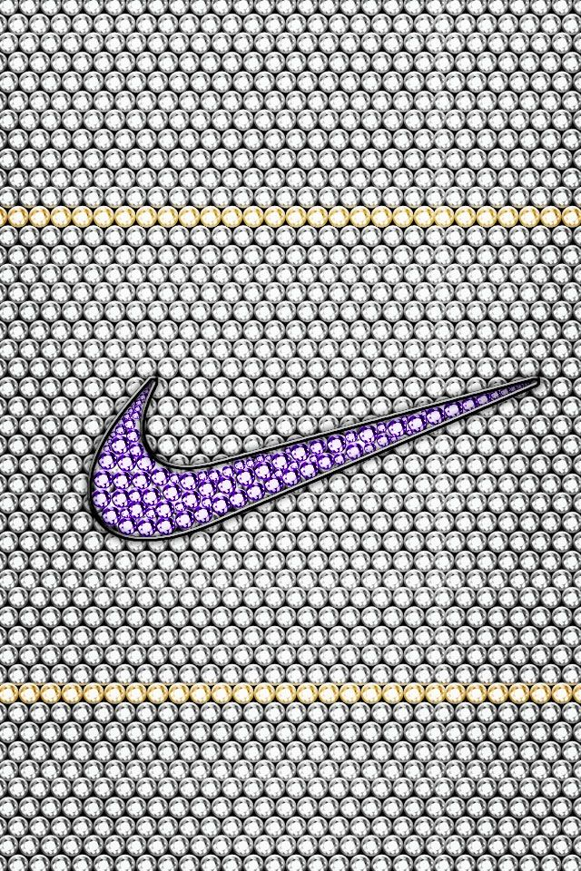 Creative bedazzled Nike sign  By: Nike and Kaylen Martin