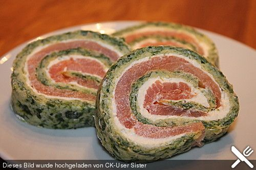 Lachs-Spinat-Rolle, ein schmackhaftes Rezept aus der Kategorie Fisch. Bewertungen: 675. Durchschnitt: Ø 4,6.