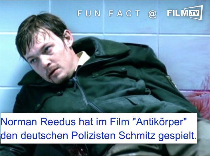 Hättet ihr den Daryl aus #TWD in diesem deutschen Film erkannt?? ➠ https://www.film.tv/archiv/antikoerper.html ➠ https://www.film.tv/nachrichten/2016/the-walking-dead-fehler-in-jeder-folge-34185.html