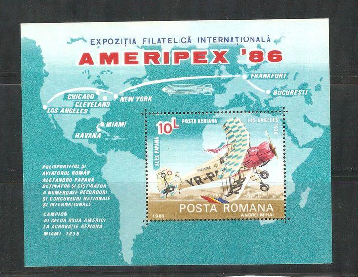 1986 International Stamp Exhibition AMERIPEX `86, Chicago