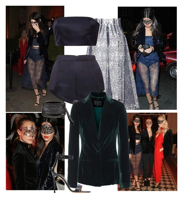 """Kendall Jenner Eva Cavalli'S Birthday Party October 9, 2015"" by vale-singh ❤ liked on Polyvore featuring Katie Ermilio, Cushnie Et Ochs and Givenchy"