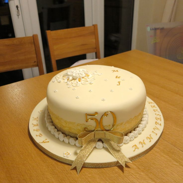 Pictures Of Th Wedding Anniversary Cakes